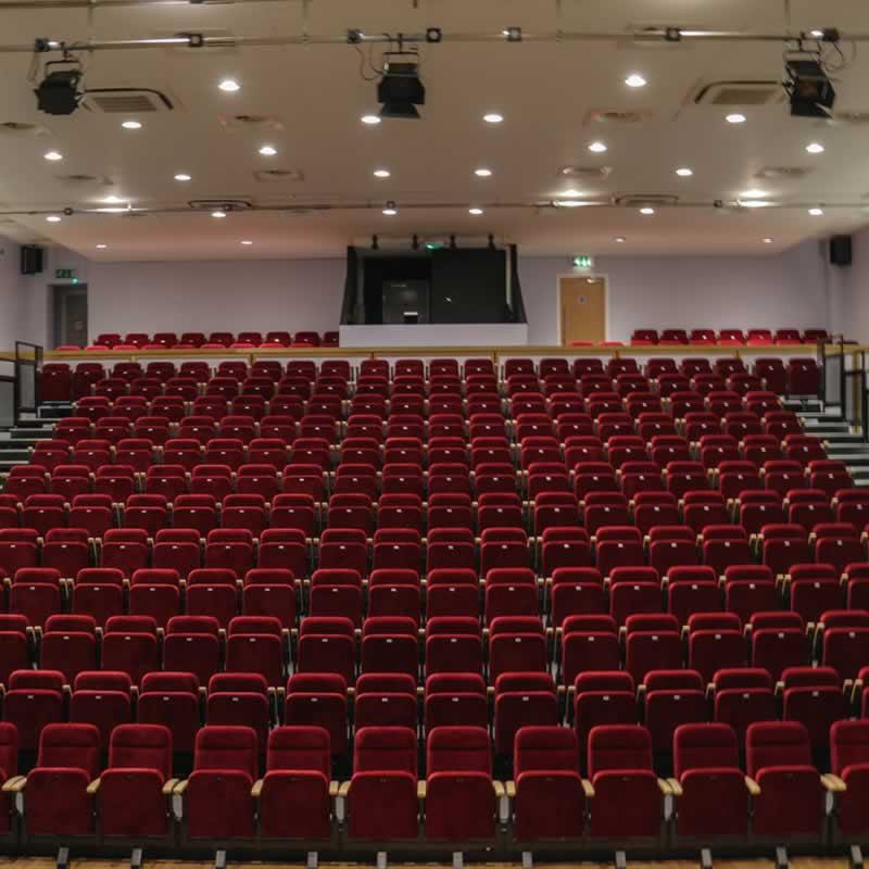Picture of auditorium seats